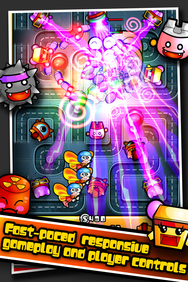 Pew Pew Land II iPhone screenshot 2