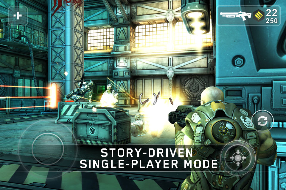 Screenshot Shadowgun Review